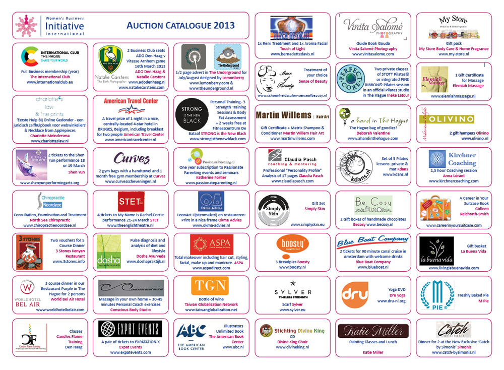IWD Auction Catalogue