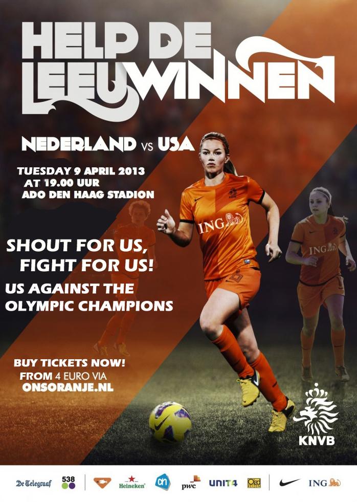 NL vs USA (women)